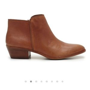 Sam Edelman brown petty ankle boots